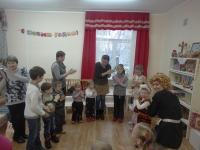 В Центральной детской библиотеке прошел фольклорный праздник «Печка-матушка»