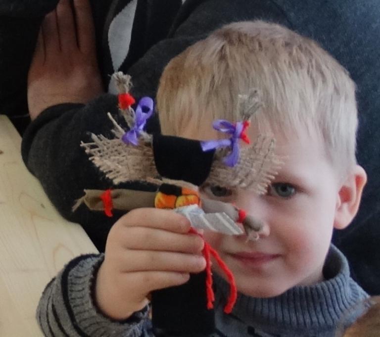 «Рождественская обрядовая кукла «Коза»