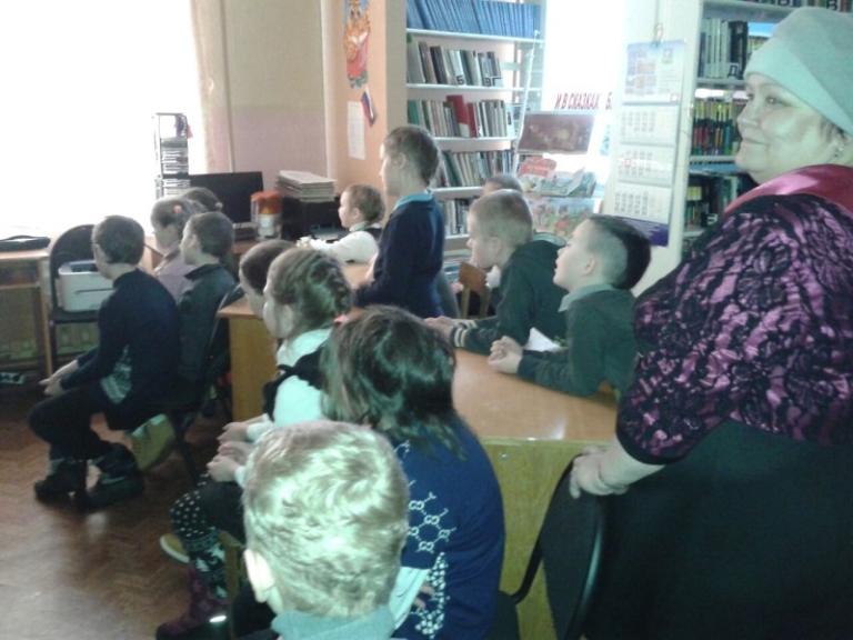 15 марта в Коскогорской сельской библиотеке для детей 2 класса состоялся информационно – познавательный час «Чтобы в ваш дом не пришла беда»