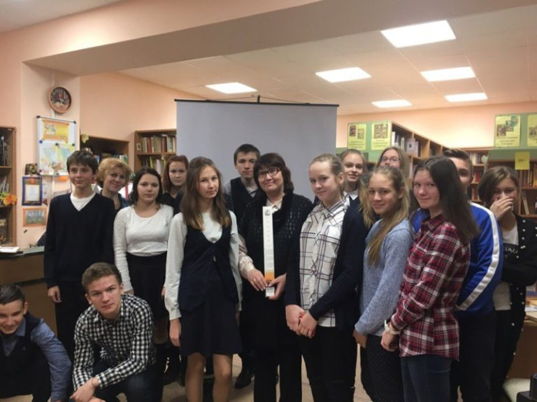 В библиотеке п. Талаги проведён цикл мероприятий к  305 -летию со дня рождения <nobr>М. В. Ломоносова.</nobr>