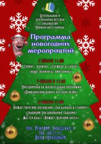 Программа новогодний мероприятий