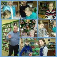 Новогодние праздники в Катунинской библиотеке