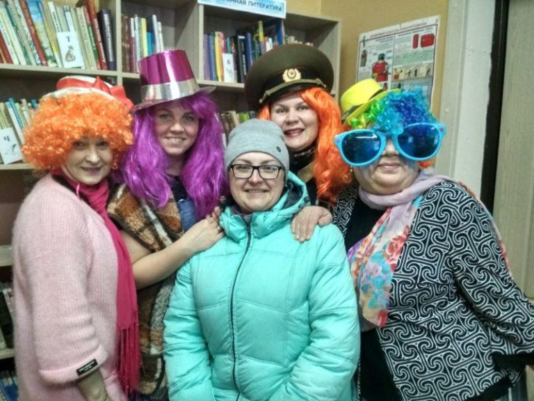 Праздник «Веселые девчата» прошел в Коскогорской библиотеке