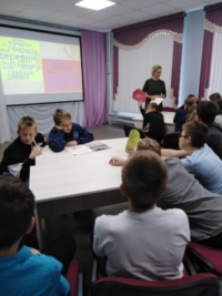 Литературный час «Северная деревня в произведениях Фёдора Абрамова» в Центральной детской библиотеке