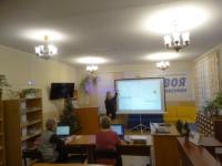 Занятия по основам компьютерной грамотности прошли в Центральной библиотеке Приморского района