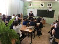 Встреча с учащимися 5 класса – путеводитель «По следам денег»