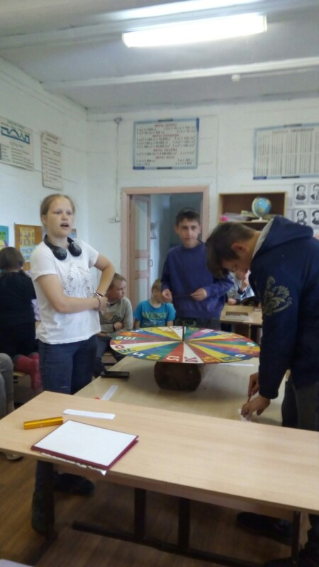 """Игра """"Поле Чудес"""", приуроченная к дате о начале войны для ребят Летне-Золотицкой школы"""