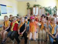 """Интеллектуальное сражение """"Своя игра"""" по творчеству Пушкина для ребят школьного лагеря Катунинской средней школы"""