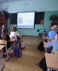 Урок по дню славянской письменности и культуре для учеников Уемской средней школы