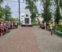 Лисестровский и Ширшинский филиал Приморской Центральной библиотеки совместно с ИДЮЦ в 12 часов 15 минут присоединились к минуте молчания, памяти и скорби